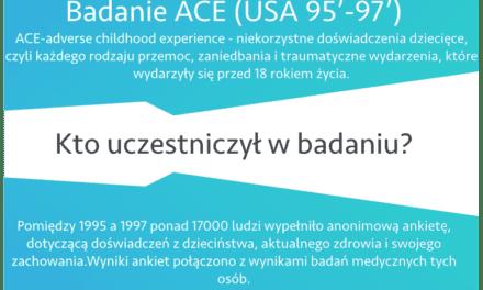 Infografika: ACE-niekorzystne doświadczenia dziecięce