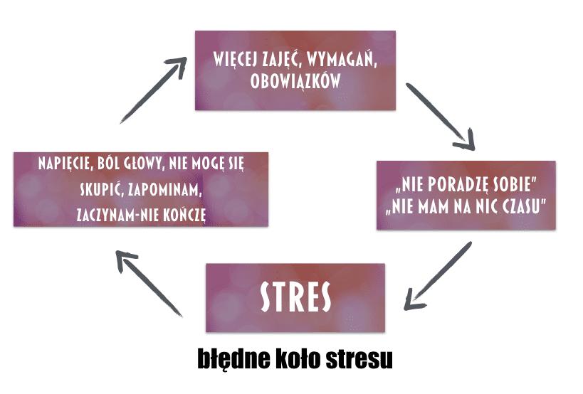 bledne-kolo-stresu  Jak radzić sobie ze stresem bledne kolo stresu