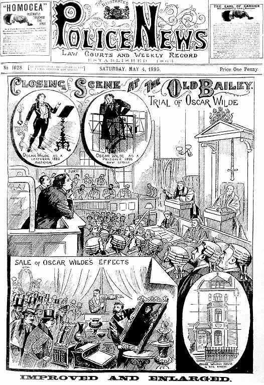 Oscar Wilde, życiorys odc 3 Oscarwildetrial