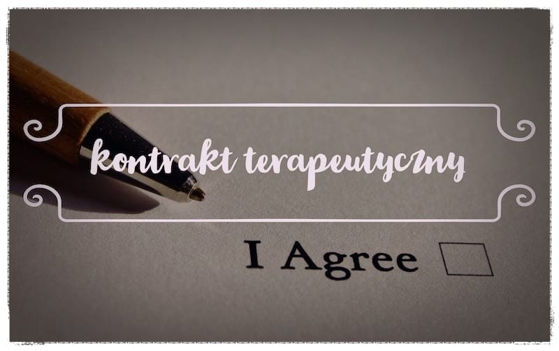 Kontrakt psychoterapeutyczny- o co w tym chodzi