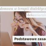 Prace domowe w terapii dialektyczno behawioralnej