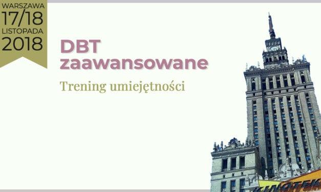 Szkolenie Zaawansowane DBT Trening Umiejętności