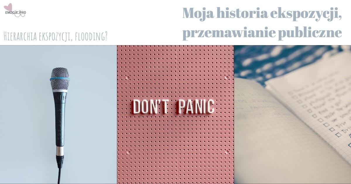 Moja historia ekspozycji, przemawianie publiczne i DBT